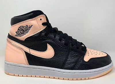 "$180 • Buy 2019 Air Jordan 1 OG High ""Crimson Tint"" Size 9.5 BLACK GREEN WHITE 555088 081"