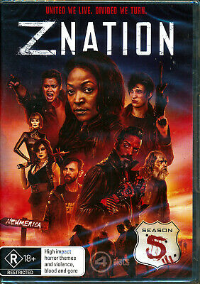 AU24 • Buy Z Nation  Season 5 DVD NEW Region 4