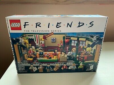 $49 • Buy Lego Friends Central Perk Cafe Set 21319 Factory Sealed New