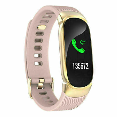AU32.99 • Buy Women QW16 Smart Watch Tracker Phone Mate Fitness For Android IPhone