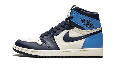 $240 • Buy Air Jordan 1 Retro High OG  Obsidian/University Blue  - 555088 140 - 2019