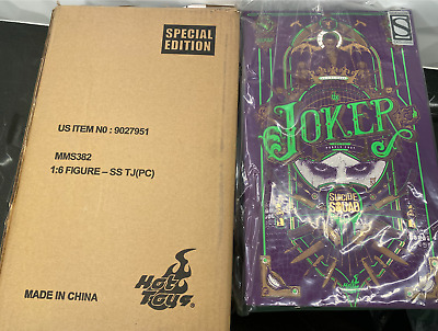 $230 • Buy Hot Toys MMS382 EXCLUSIVE Suicide Squad The Joker Purple Coat SPECIAL EDITION