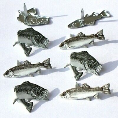$2.25 • Buy Trout Brads ** 8 Pcs ** Brown & Grey **
