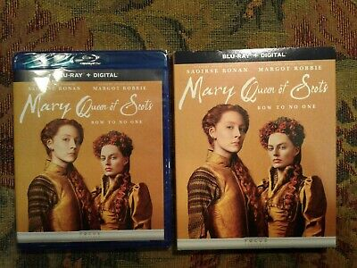 $12.99 • Buy Mary Queen Of Scots Blu-Ray + DVD + Digital Factory Sealed NEW