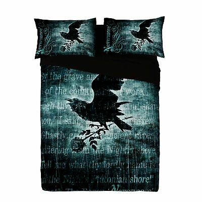 £79.95 • Buy Alchemy - NEVERMORE - Duvet And Pillows Cover Set / UK King / US Queen