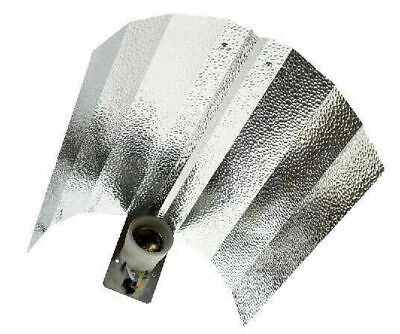 £15 • Buy CFL Reflector Wing Shade Grow Light Hood E40 Fitting With 5m Cable Hydroponics