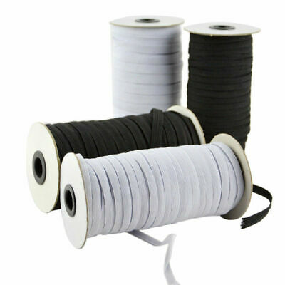 $ CDN26.41 • Buy 100/200 Yards Braided Elastic Band Cord Knit 3/6mm Stretch DIY Sewing In Stock