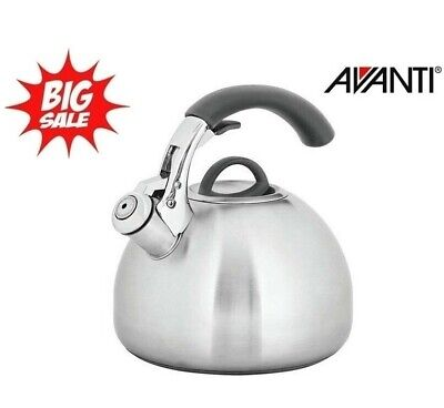 AU44.95 • Buy New Avanti Varese 2.5L Stainless Steel Whistling Kettle, Stove Top + Induction