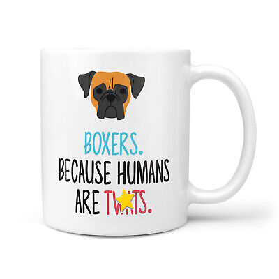Boxer Dog Gift Mug - Funny & Rude Presents For Dog Lover, Birthday Gifts For Mum • 9.95£
