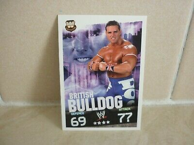 WWE Trading Card British Bulldog. ( Legends ) Slam Attax Evolution. • 0.99£
