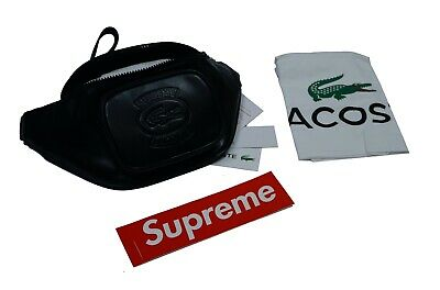 $ CDN269.53 • Buy Deadstock Black Supreme LACOSTE Waist Bag Black SS18