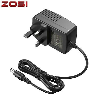 £6.99 • Buy ZOSI 12V Power Supply 2A AC DC Adapter 3 Pin UK Plug For CCTV Camera IPC Charger
