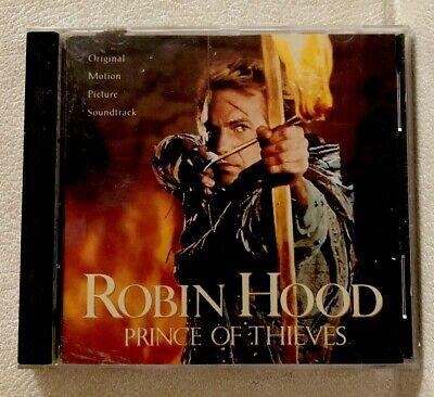 Robin Hood Prince Of Thieves - Motion Picture Soundtrack CD Compact Disc • 14.28£