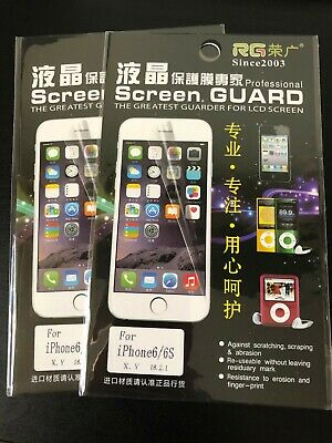 AU4 • Buy Screen Guard Iphone 6/6s For LCD Screen. Resistance To Erosion And Finger Print.