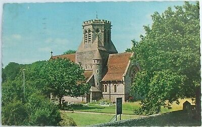 £3.85 • Buy The New Church Of St Margarets, Hopton-on-Sea - RP Colour Postcard - Posted 1976