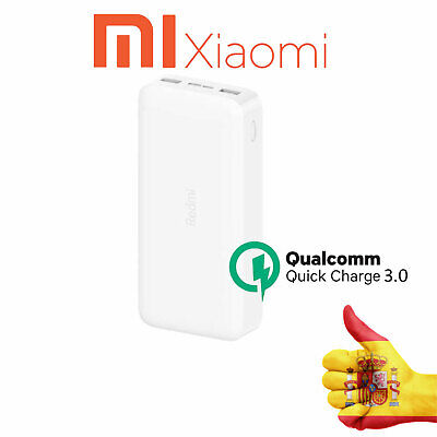 AU139.46 • Buy Xiaomi Redmi Power Bank 20000mAh Fast Charger/Versione Charger Carica Rapida