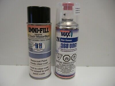 AU58.49 • Buy Base Coat And 2K Clear Set Spray Can Automotive Paint Harley Luxury Blue Metalic