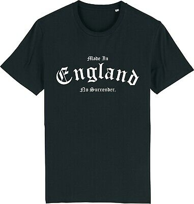 Made In England No Surrender T-Shirt St Georges Day English Supporter • 9.95£