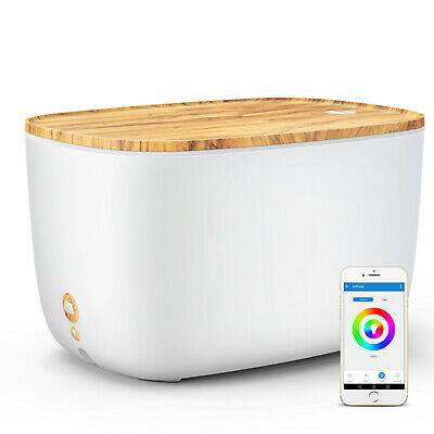 AU69.99 • Buy 2L Smart WiFi Essential Oil Diffuser Humidifier Compatible With Alexa & Google