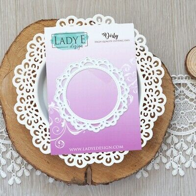 Lady E Design Doily Cutting Die, Foam Flowers, Exploding Box • 7.99£