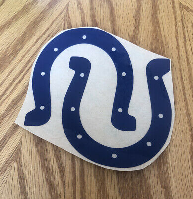 $20 • Buy Indianapolis Colts Full Sz Replica Nfl Helmet Decal Set Manning