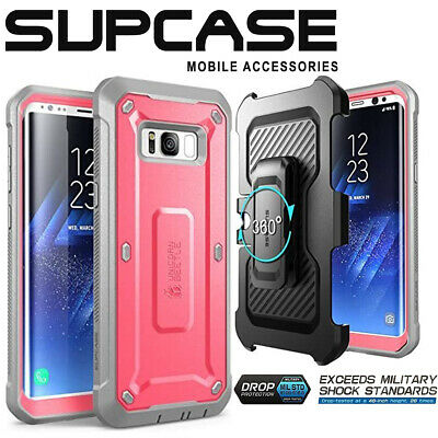AU19.99 • Buy SUPCASE FullBody Rugged Case WITHOUT Screen Protector For Samsung Galaxy S8 Plus