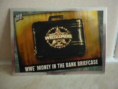 WWE Trading Card Money In The Bank Briefcase.  Slam Attax Evolution • 0.99£