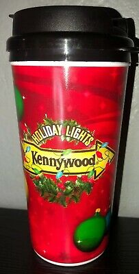 $3.20 • Buy Kennywood Park Holiday Lights Christmas Refillable Hot Cold Cup Pittsburgh PA