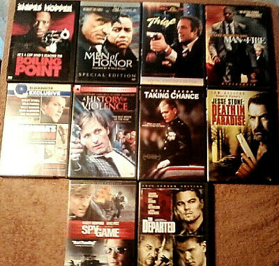 $ CDN27.21 • Buy Lot Of 10 ACTION THRILLER DVDs - Jesse Stone: Death In Paradise +