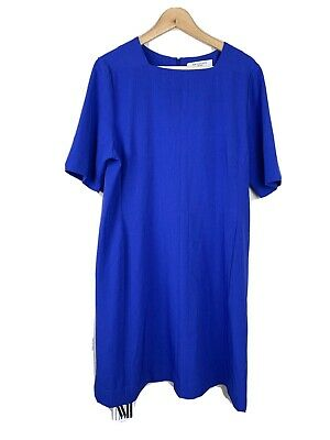 $ CDN144.99 • Buy MM Lafleur Womens +1 1X Emily Dress Cobalt Blue Work Career New