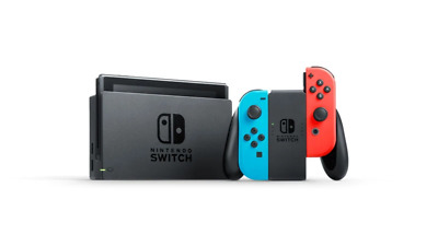 AU478.99 • Buy [au Stock] Nintendo Switch Console Neon (new Look Packaging)