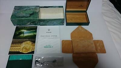 $ CDN383.22 • Buy ROLEX SUBMARINER 1998 Booklet BOX 16610 Seal Guarantee Case Chronometer Tag