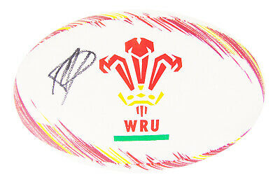 Signed Toby Faletau Ball - Wales Rugby Autograph +COA • 129.99£