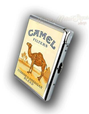 Camel  Advertising Cigarette Case With  Build In Lighter  • 17.99£