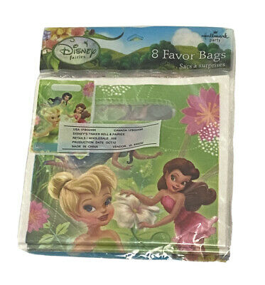 £5.32 • Buy 8 Tinker Bell And Fairies Loot Bags