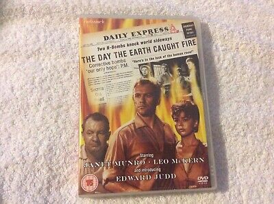 £6.49 • Buy The Day The Earth Caught Fire (DVDj Janet Munro Leo Mckern