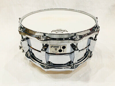 $1217 • Buy SONOR PHONIC D506 Steel Shell 14  6.5  1980s Original Snare Drum Instruments
