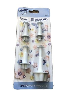 Arts And Crafts Flower Blossom Plunger Cutter • 8.50£