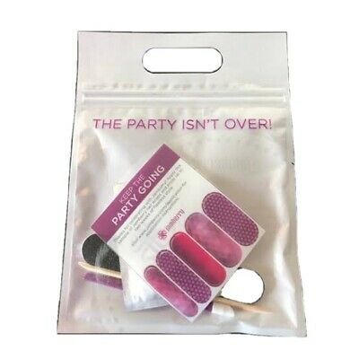 AU5 • Buy Jamberry Nail Wraps Party Isn't Over Pack Plus Bonus Accent Sheets