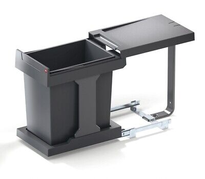 Hailo SOLO Waste Bin / 20 Litres / For Hinge Door Cabinets From 300mm Width • 75.95£