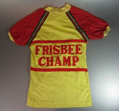 $ CDN29 • Buy Vintage Frisbee Champ T Shirt Sz 12 Youth Child Kid CLOTHING OUTFIT New Old 70's