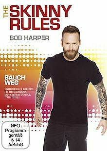 Bob Harper: The Skinny Rules - Bauch Weg | DVD | Condition Very Good • 14.76£