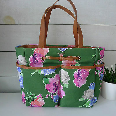 $ CDN299.97 • Buy KATE SPADE Iris Street Fabric CARDEN Floral BAG Tote BABY Diaper Shoulder NEW !