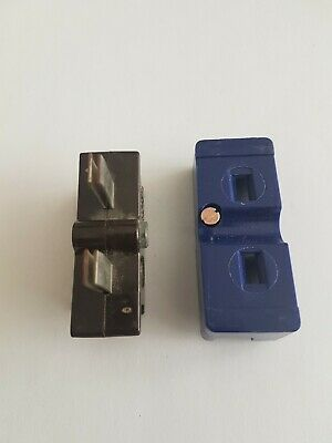 C15 WYLEX PUSH PLUG IN 15 AMP BS1361 CARTRIDGE & BLUE BASE 15A HRC FUSE  Used  • 8.99£