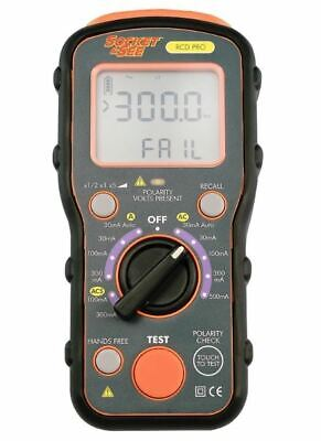 **CLEARANCE** Socket & See RCD PRO Professional RCD Tester • 298.80£