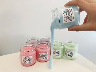AU8 • Buy 2 X 100 Ml Slime Assorted - Coloured - STORAGE CONTAINERS INCLUDED