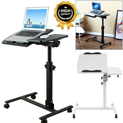 Adjustable Portable Laptop Desk Table Stand Lap Sofa Bed PC Notebook Study Work • 26.99£
