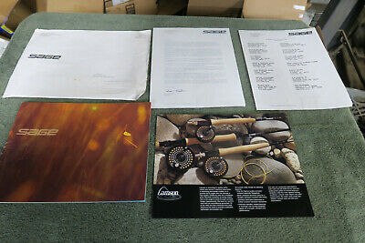 $20 • Buy Sage Fly Rod Catalog  And Papers, 1993 Very Nice Fly Fishing.   Trout,
