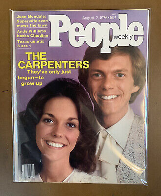 $39.99 • Buy 1976 August 2 PEOPLE Magazine THE CARPENTERS *No Label (A43)