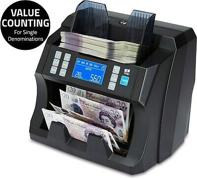 £249.99 • Buy Note Counter Machine Money Currency Banknote Counting Detector Cash Bill ZZap